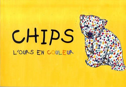 Chips l'ours en couleur